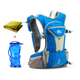 12L Durable Backpack. Includes 2L Hydration Bladder + Emergency Blanket - All about Wheels
