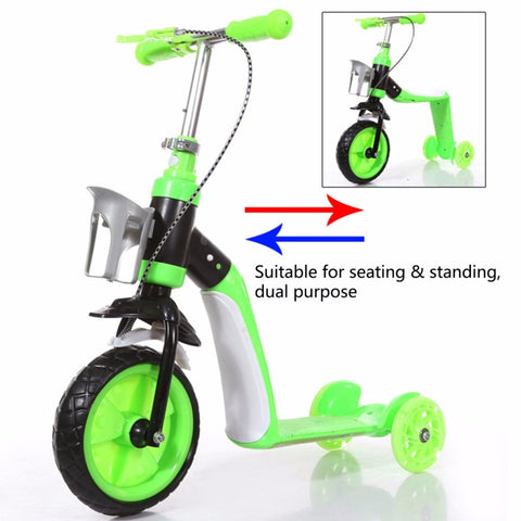 Children Scooter Two In One Option - All about Wheels