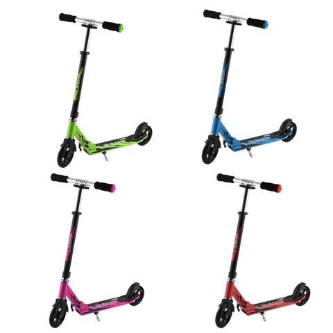 Stylish Height Adjustable Folding Scooter - All about Wheels