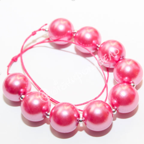 Light Hot Pink pearl