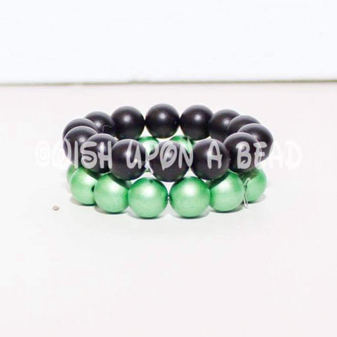 Black Green Stack