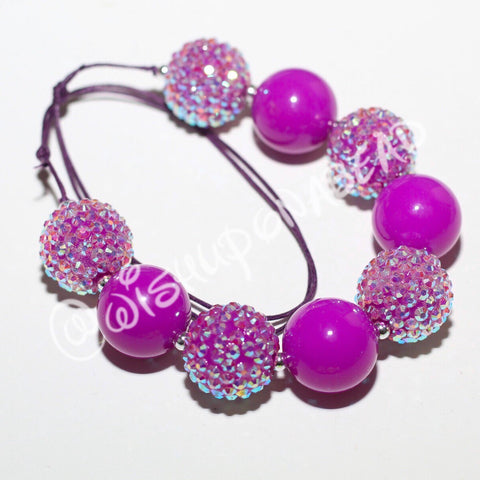 Neon Purple Jewel