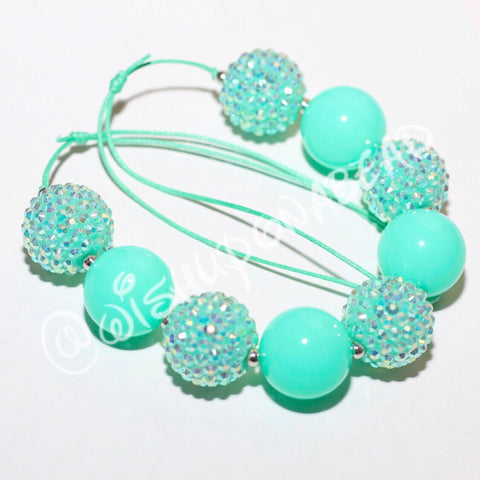 Neon Mint Jewel