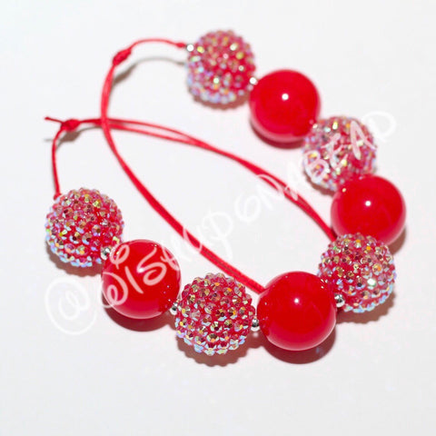 Neon Red Jewel