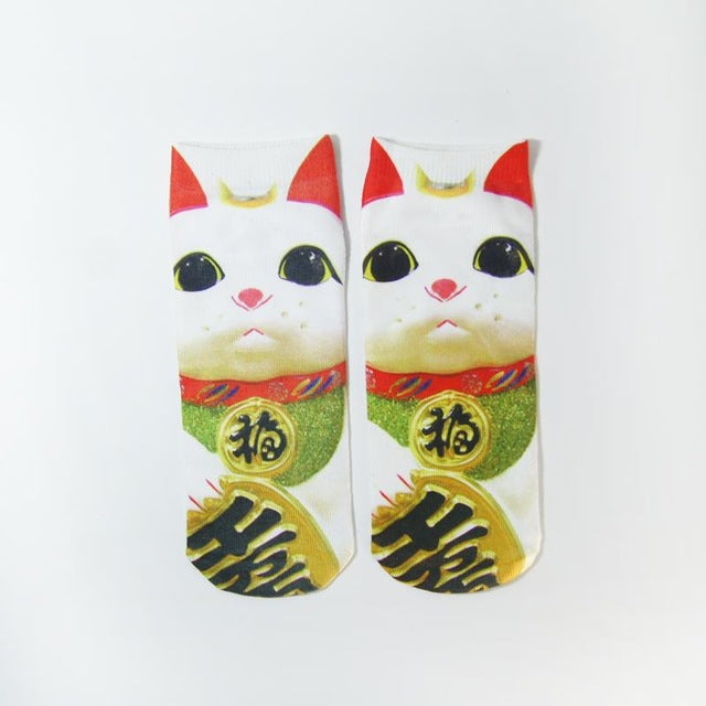 NEW cute 3D funny printed Socks for Girls