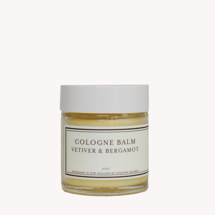Country Kitchen Vetiver and Bergamot Cologne Balm