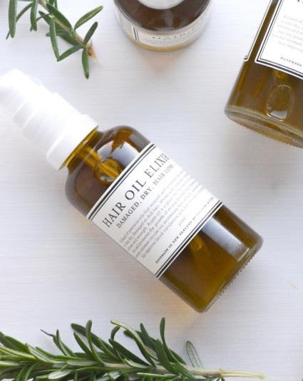 Hair Oil Elixir - Rosemary and Wild Cleavers