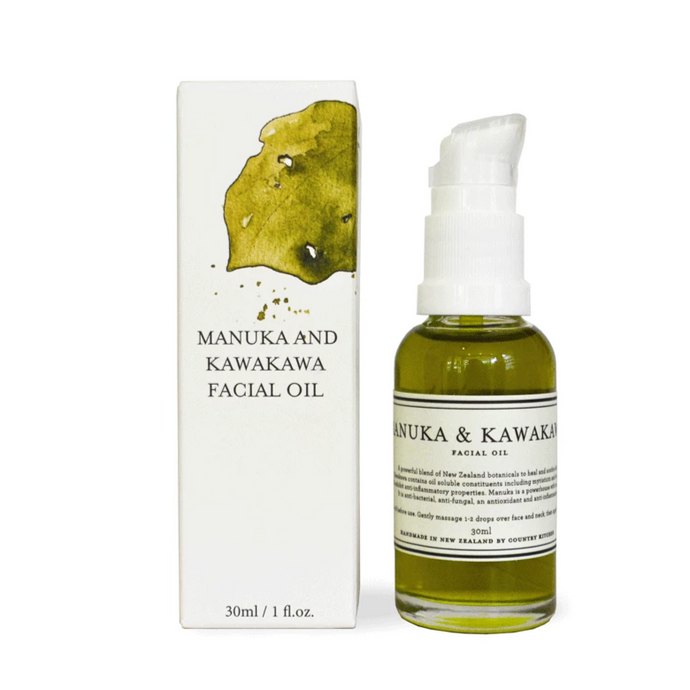 Manuka and Kawakawa Facial Oil from Country Kitchen