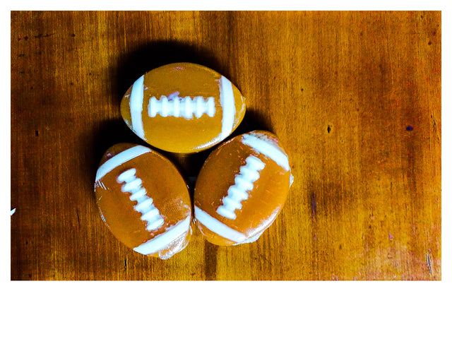 Natural Glycerin Football Soap
