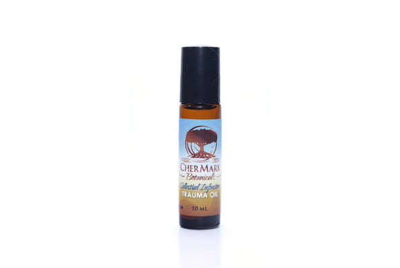 Trauma Oil 10ML is deeply soothing when applied to areas of injury where the skin is not broken, such as bruises, sprains, aching joints, muscle strains, or tension