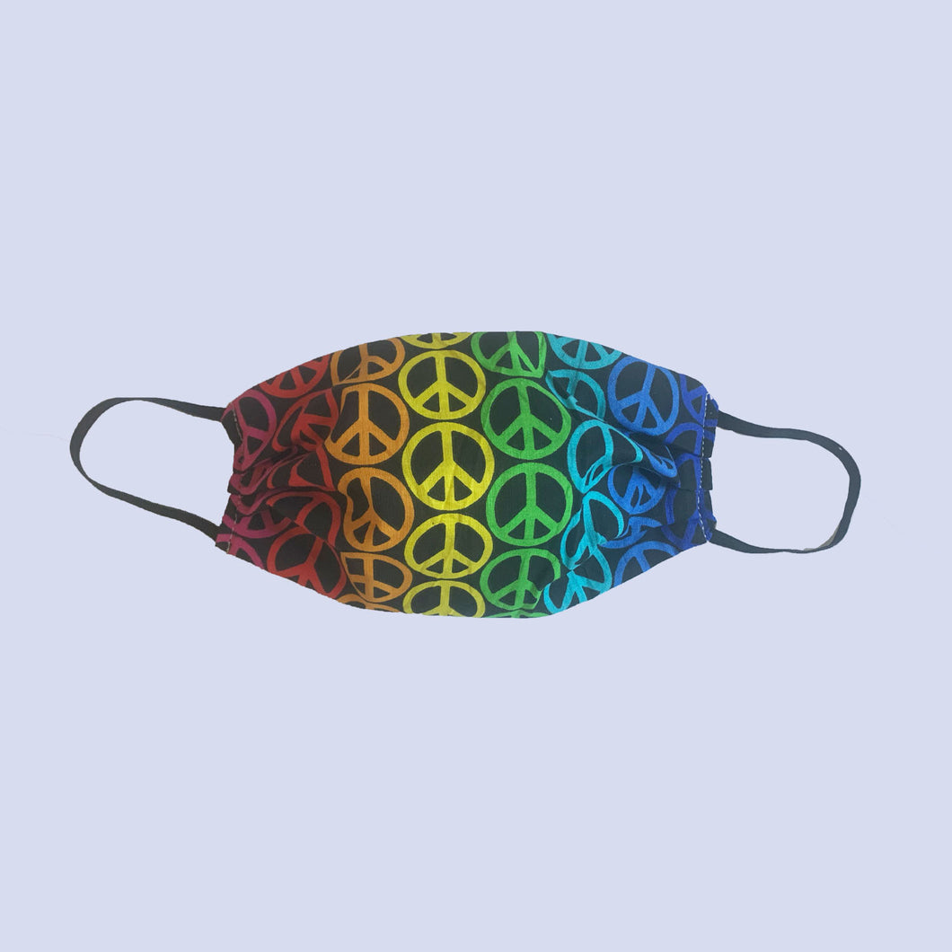 Out-dôrz Peace Love Face Mask