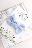 Powder Blue Madison Bow