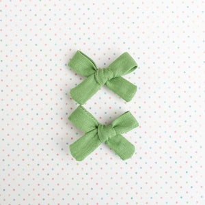 Apple Linen Mini Isabella's (Set of 2 or Headband)