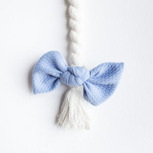 Baby Blue Bullet Madison Bow