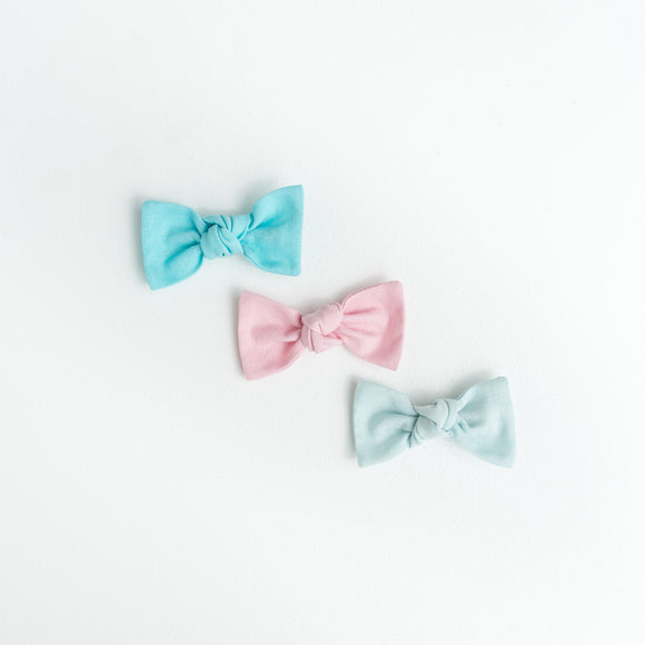 Cotton Candy Solids Sydnee Set (3 Bows)