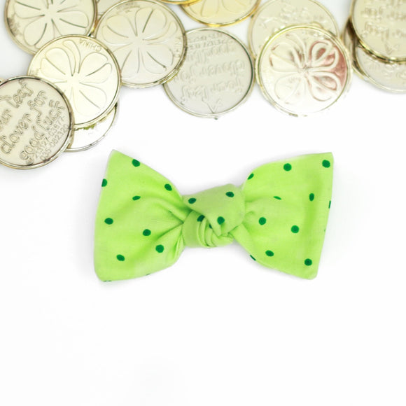 Green Dots Sydnee Bow