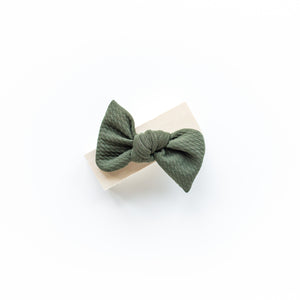 Army Green Madison Bow