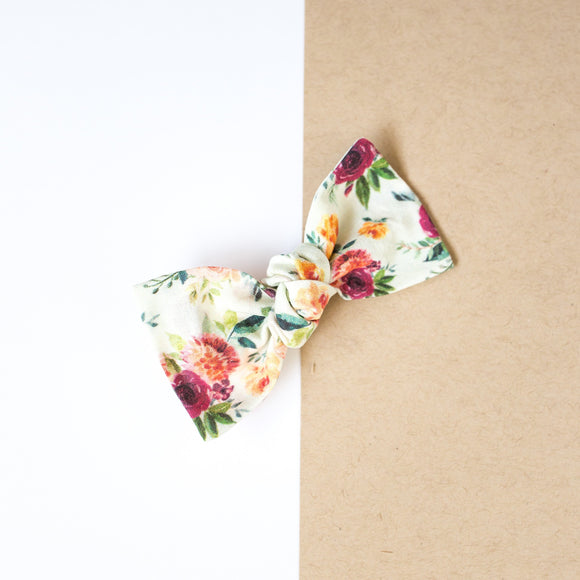 Autumn Floral Sydnee Bow