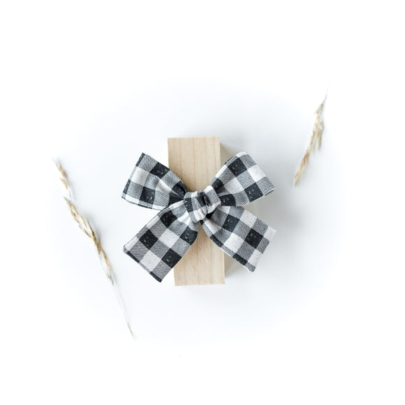 Vintage Plaid Isabella Bow