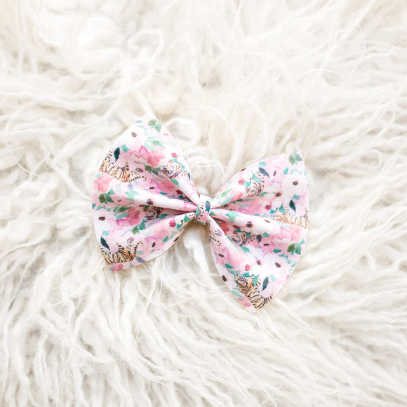 Cool Cats + Kittens Delilah Bow-Large or Mini's