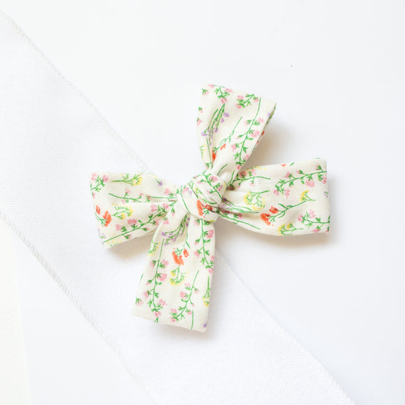 Vintage Wildflower Isabella Bow