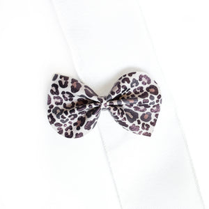 Cool Cat Leopard Large Reese Bow