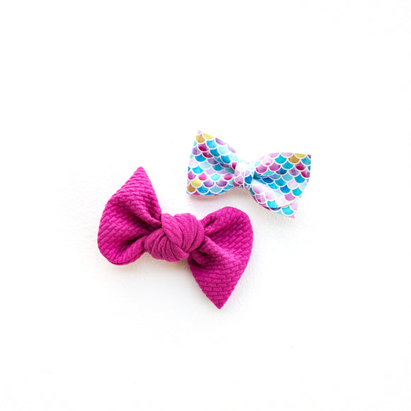Multi-Color Mermaid Kate Bow (Single or Set)