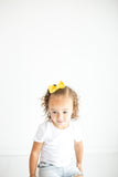 Sunflower Solid Sydnee Bow