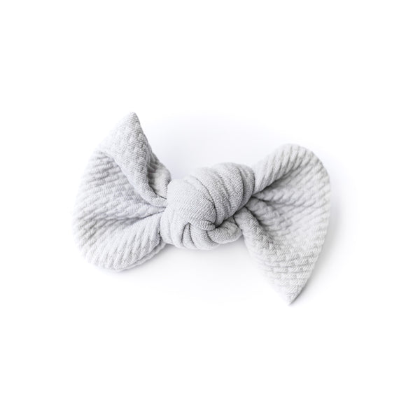 Stormy Grey Bullet Madison Bow