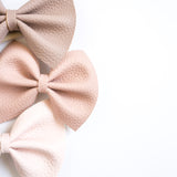 Blush Tones Delilah Set (3 Bows-2 Sizes)