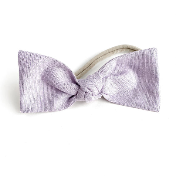 Purple Shimmer Sydnee Bow