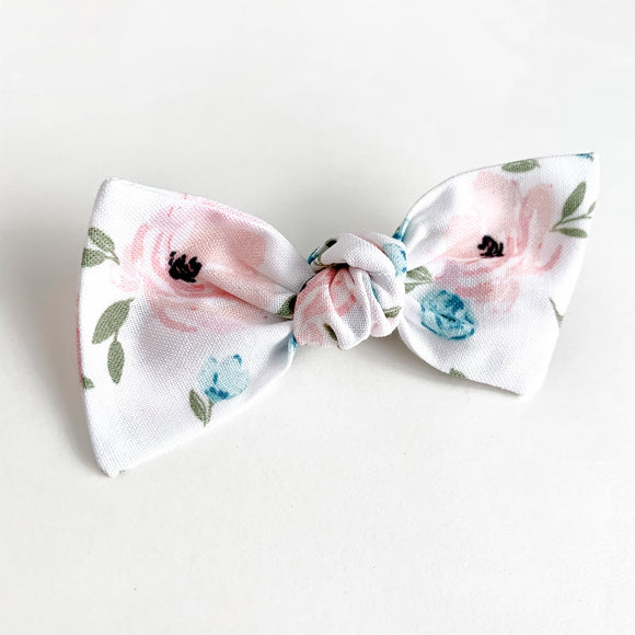 Watercolor Peonies Sydnee Bow