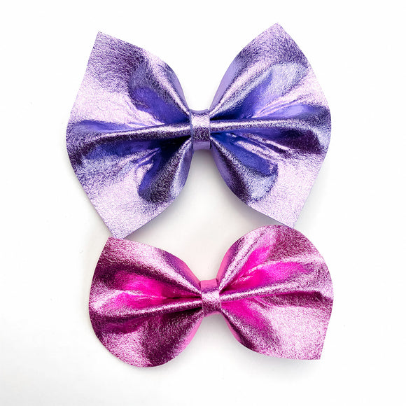Metallic Felt Bow Set (2 Bows)