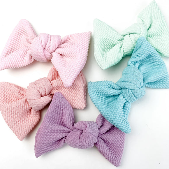 Full Set- Spring Bullet Samantha Bow Colors (5 Bows)