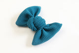 Teal Bullet Samantha Bow