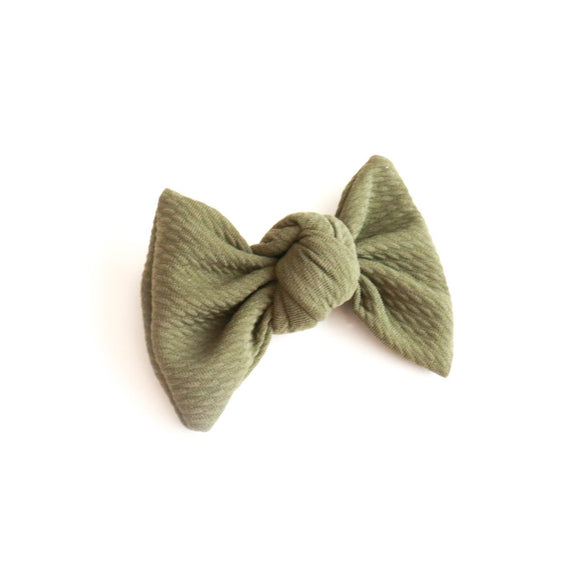 Army Green Bullet Samantha Bow