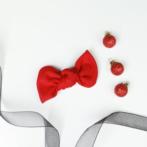 Red Madison Bow