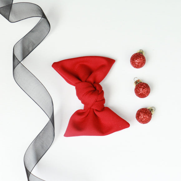 Red Samantha Bow