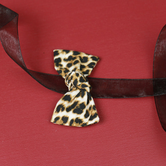 Cheetah Sydnee Bow