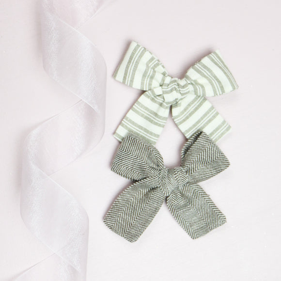 Taupe Tones Isabella Set (2 Bows)