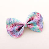 Summer Daze Tie Dye Large Reese Bow