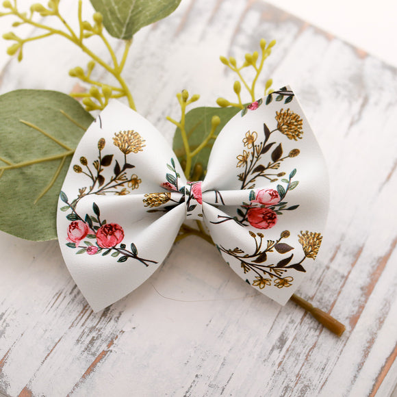 Summer Wildflower Large Delilah Bow