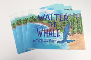 Walter the Whale Soft Cover Book