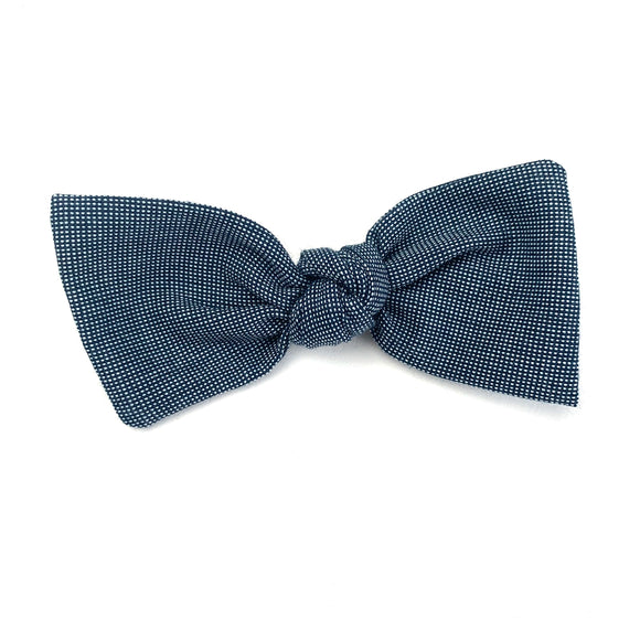 Midnight Linen Sydnee Bow