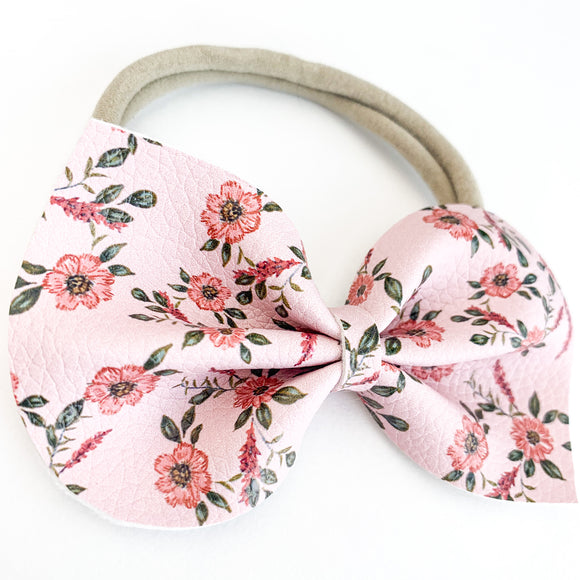 Country Floral Large Reese Bow