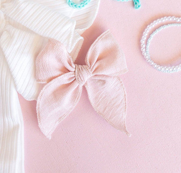 Blush Pink Margaret Bow