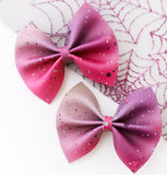 Zombie Splatter Mini Delilah Bows (Set of 2 or Headband)