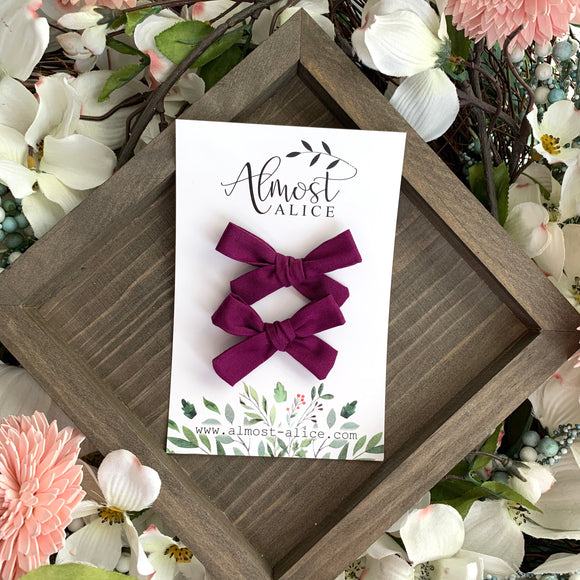 Orchid Mini Isabella Bows