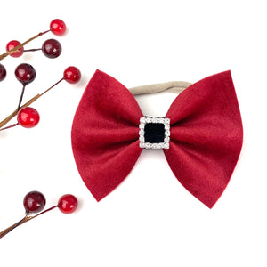 Santa Baby Large Delilah Bow {Limited Edition}