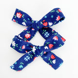 Patriotic Tulips Mini Isabella Bows (set of 2)